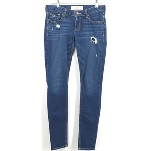 Hollister Distressed Skinny Jeans Size 5R (27)